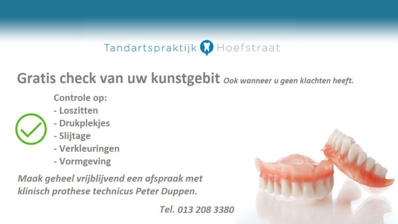 Gratis Check Kunstgebit Prothese